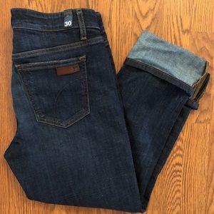 Joe's | NEW Dark Wash Cuffed Crop Jeans